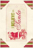 "Wonder - Headline Die Cut ""I believe in Santa"""
