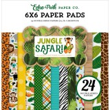 Jungle Safari - Paper Pad 15,2x15,2 cm