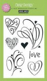 Clear Stamps - Love Flourish Herzen