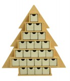 Tree Advent Calendar aus MDF