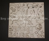Herbstzauber - Chipboard Motive