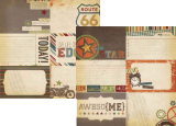 Awesome - 4x6 journaling card elements #2 30,5x