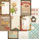 Harvest Lane - 4x6 Vertical Journaling Card Elemen