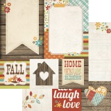 Harvest Lane - 4x4 Quote / 6x8 Photo Mat Element