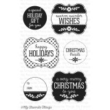 Christmas Labels and Tags - Clear Stamps