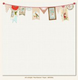 All is bright - Noel Banner - 30,5x30,5 cm
