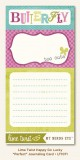 "Lime Twist - Happy Go Lucky ""Perfect"" Journaling C"