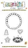 Adventskranz für unterwegs - Mini Clear Stamps