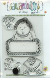 Little Boy - Clear Stamp Minis