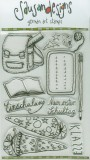 Schule - Clear Stamps Set
