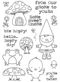 From our Gnome - Clear Stamp Set