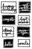 All Occasions - Clear Stamps by Ali Edwards