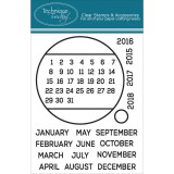 Circle The Date - Technique Tuesday Clear Stamps