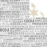Tinsel & Company - Words 30,5x30,5 cm