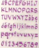 Alphabet - Clear Stamps