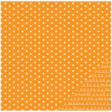 Basics - Orange Dot 30,5x30,5 cm