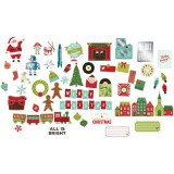 Christmas Magic - Ephemera Silver Foil Die Cuts