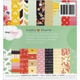 Dear Lizzy Lucky Charm - Paper Pad 15,2x15,2 cm