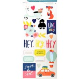 Dear Lizzy Lovely Day - Accents / Phrases Sticker