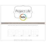 Project Life - Small Variety Pack 6 - Pocket Pages