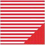 Basics - Red Stripe 30,5x30,5 cm