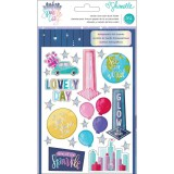 Sparkle City - Sticker and Washi Folder