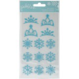 Winter Wonderland - Snowflakes Puff Sticker