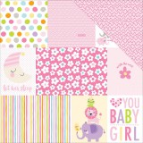 Sweet Baby Girl - Daily Details 30,5x30,5 cm