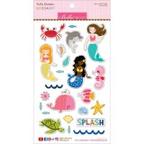 Secrets of the Sea Girl - Puffy Sticker