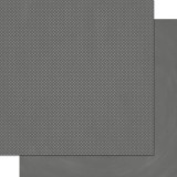 Charcoal - Double Dot Cardstock 30,5x30,5 cm