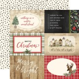Christmas - 4x6 Journaling Cards 30,5x30,5 cm