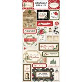 Christmas - Chipboard Phrases