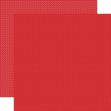 Dots Paper - Red 30,5x30,5 cm