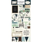 Home Again - Accents Chipboard