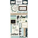Home Again - Phrases Chipboard