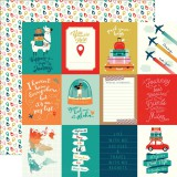 Pack Your Bags - 3x4 Journaling Cards