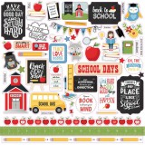 School Rules - Element Sticker 30,5x30,5 cm