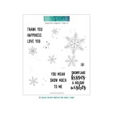 Snowflakes - Turnabout Clear Stamps 6x6 inch