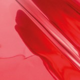 Heat Activated Foil Deep Red Mirror Finish