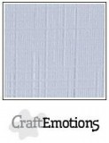 Leinenkarton - diamant weiß von Craft Emotions 30,