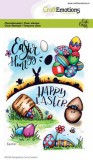 CraftEmotions clearstamps A6 - Easter 1 Carla Crea