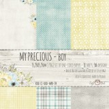 My Precious Boy - Set of Papers 15,2x15,2 cm