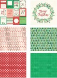Hand Painted Christmas Stack - Paper Pad 30,5x30,5