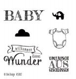 Dini Design Clearstamps Baby (DE)
