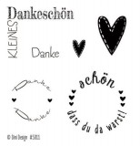 Dini Design Clearstamps Danke (DE)
