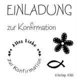 Dini Design Clearstamps Konfirmation (DE)