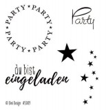 Dini Design Clearstamps Party (DE)