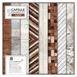 Capsule - Elements Wood Paper Pad 15,2x15,2 cm