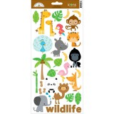 At the Zoo - Cardstock Sticker Icons #1