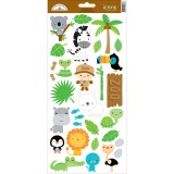 At the Zoo - Cardstock Sticker Icons #2